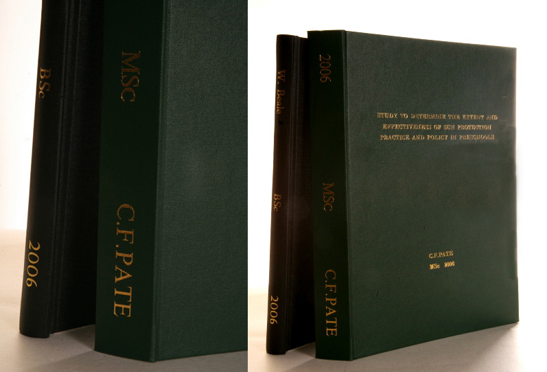 Dissertation consulting service binding
